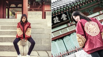 역사와 전통을 담은 '곤룡포 항공점퍼' 패션 브랜드 '아시하' 선보여