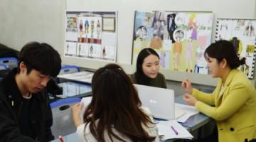 MBTI적성검사를 통한 패션취업준비, 라사라 취업캠프 진행